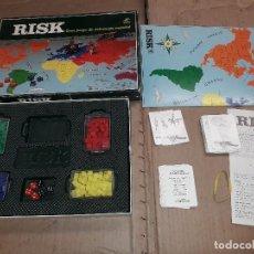 Juegos de mesa: RISK BORRAS , ANTIGUO , COMPLETO. Lote 149986882