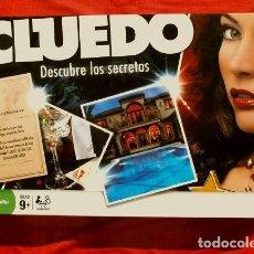 Juegos de mesa: CLUEDO DESCUBRE LOS SECRETOS (COMPLETO Y NUEVO) JUEGO DE MESA FAMILIA PARKER HASBRO 2008. Lote 150113402