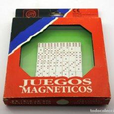 Juegos de mesa: ANTIGUO DOMINO - JUEGOS MAGNETICOS MARIGÓ - MADE IN SPAIN. Lote 150142590