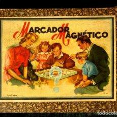 Juegos de mesa: MARCADOR MAGNETICO - RARO Y DIFICIL JUEGO DE MESA (AÑOS 40-50) ORIGINAL - JUGUETES BORRAS CIRCA. Lote 150146250