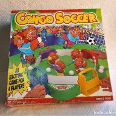 Juegos de mesa: JUEGO DE MESA CONGO SOCCER - MAPLE TOYS - FALTA UN MONO O JUGADOR. Lote 150155926