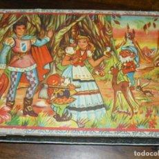 Juegos de mesa: ANTIGUO ROMPECABEZAS DE CARTÓN - CUENTOS POPULARES. Lote 150290286