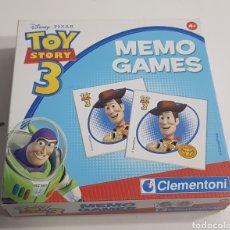 Juegos de mesa: TOY STORY 3 - MEMO GAMES - COMPLETO - ARM01. Lote 150490866