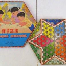 Juegos de mesa: DAMAS CHINAS - MARBLE CHECKERS - . Lote 150570638