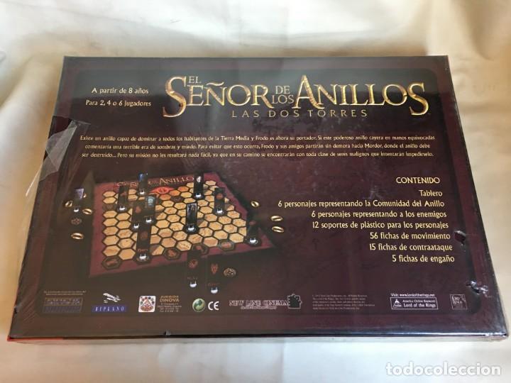 Juegos de mesa: JUEGO DE MESA EL SEÑOR DE LOS ANILLOS LAS DOS TORRES DE DINOVA - PRECINTADO - Foto 2 - 150604482