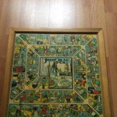 Juegos de mesa: ANTIGUO PARCHÍS Y JUEGO DE LA OCA. Lote 150611278