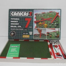 Juegos de mesa: JUEGO CANICAS 7, SCALA, COMPLETO Y EN BUEN ESTADO, AÑOS 80. Lote 150616810