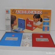 Juegos de mesa: JUEGO AHORCADO, MB, COMPLETO Y EN BUEN ESTADO, AÑOS 80. Lote 150618270