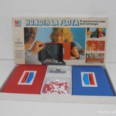 Juegos de mesa: JUEGO HUNDIR LA FLOTA, MB, COMPLETO Y EN BUEN ESTADO, AÑOS 80. Lote 150618370