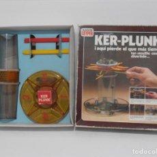 Juegos de mesa: JUEGO KER-PLUNK, GEYPER, HABILIDAD, COMPLETO SIN JUGAR, AÑOS 80. Lote 150622686
