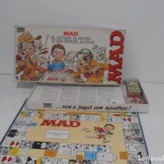 Juegos de mesa: JUEGO MAD, PARKER, COMPLETO, BUEN ESTADO, AÑOS 80. Lote 150624662