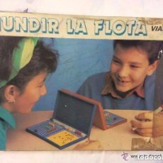 Juegos de mesa: HUNDIR LA FLOTA ,ANTIGUO JUEGO AÑOS 60/70 IDEAL COLECCIONISTAS . Lote 150642714