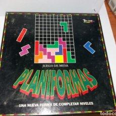Juegos de mesa: JUEGO PLANIFORMAS TRI-ONE. Lote 150663592