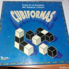 Juegos de mesa: JUEGO CUBIFORMAS TRI-ONE. Lote 150664286
