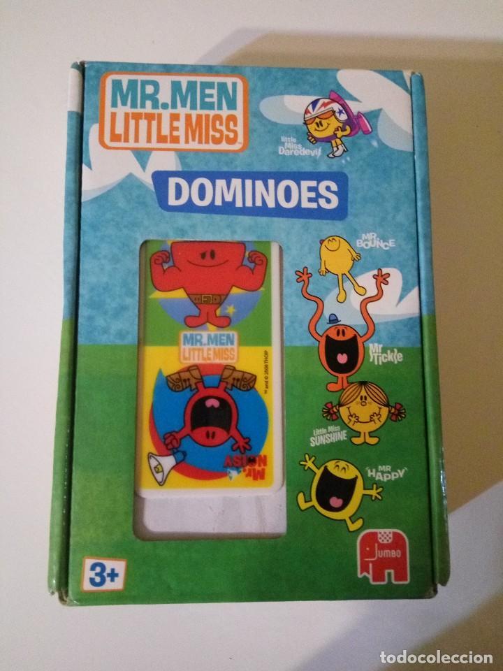 Dominó Mr Men Little Miss Comprar Juegos De Mesa Antiguos En