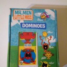 Juegos de mesa: DOMINÓ MR. MEN LITTLE MISS. Lote 150666918