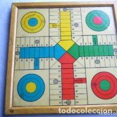 Juegos de mesa: TABLERO PARCHÍS Y JUEGO DE LA OCA. Lote 150844182