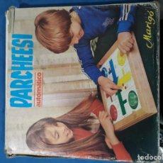 Juegos de mesa: TABLERO DE PARCHÍS Y LA OCA CON PULSADOR AUTOMATICO. Lote 150847142