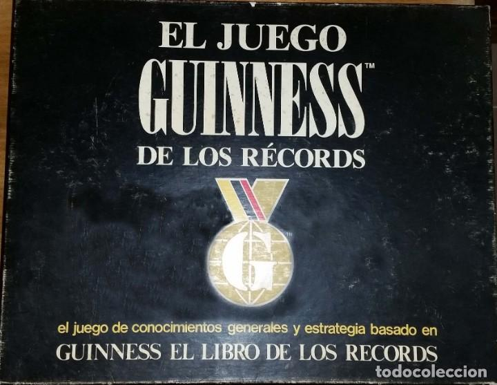 JUEGO DE MESA GUINESS DE LOS RECORDS (Juguetes - Juegos - Juegos de Mesa)