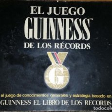 Juegos de mesa: JUEGO DE MESA GUINESS DE LOS RECORDS. Lote 150916078