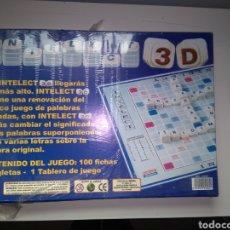 Juegos de mesa: INTELECT 3D - PRECINTADO - JUEGO MESA. Lote 150949578