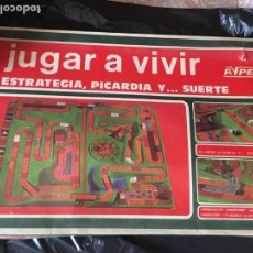 Juegos de mesa: JUEGO DE MESA JUGAR A VIVIR. Lote 164186506