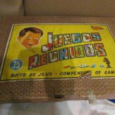 Juegos de mesa: JUEGOS REUNIDOS GEYPER. Lote 151218994