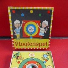 Juegos de mesa: VLOOLENSPEL..EL JUEGO DE LA PULGA..AÑOS 60..HOLANDA.ORIGINAL DE EPOCA.Y EN SU CAJA... Lote 151231430