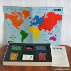 Juegos de mesa: RISK GRAN JUEGO DE ESTRATEGIA MUNDIAL * BORRAS * COMPLETO. Lote 151414286