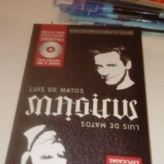 Juegos de mesa: G-PPVP19 LUIS DE MATOS 50 ILUSIONES EXPLICADAS CON DVD Y DEMAS ACCESORIOS. Lote 151455026
