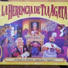 Juegos de mesa: JUEGO LA HERENCIA DE LA TÍA AGATA DE MB. Lote 151457266