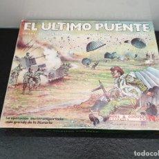 Juegos de mesa: JUEGO DE MESA EL ÚLTIMO PUENTE, 1944 LA BATALLA DE ARNHEM. NAC (ENVÍO 4,31€). Lote 151463310