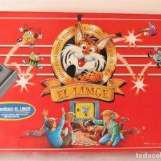 Juegos de mesa: JUEGO DE MESA EL LINCE CON VÍDEO VHS DE EDUCA. Lote 151510278