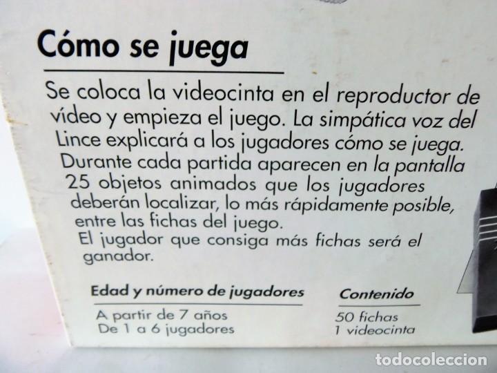 Juegos de mesa: Juego de mesa El Lince con vídeo VHS de Educa - Foto 4 - 151510278