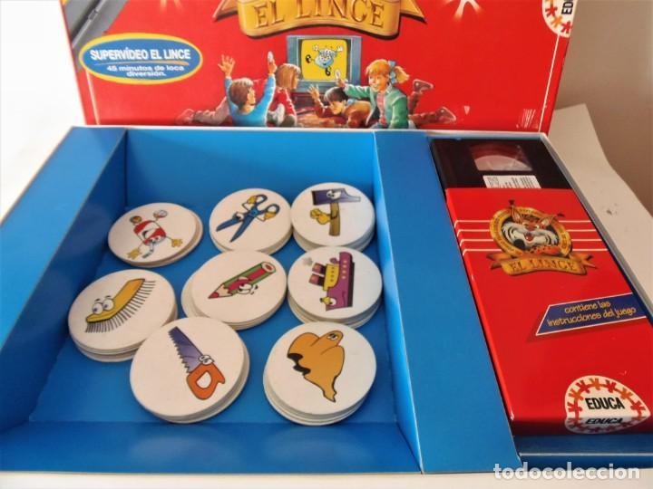 Juegos de mesa: Juego de mesa El Lince con vídeo VHS de Educa - Foto 5 - 151510278