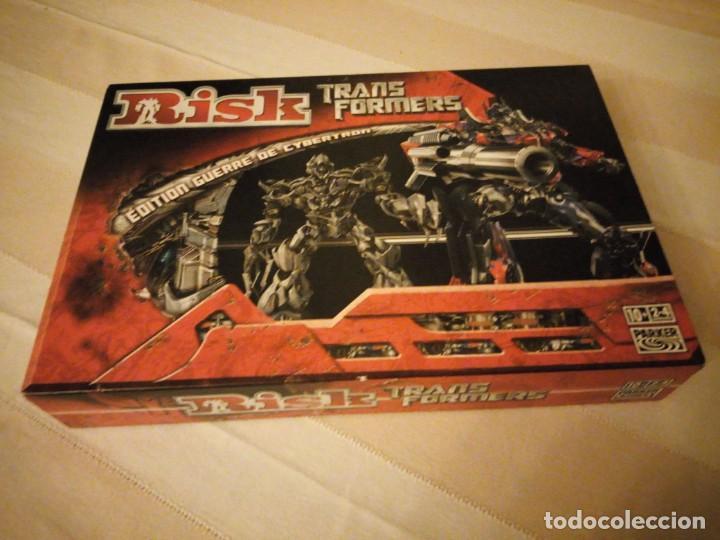 RISK - TRANSFORMERS - PARKER BROTHERS - CYBERTRON BATTLE EDITION - 2007,HASBRO (Juguetes - Juegos - Juegos de Mesa)