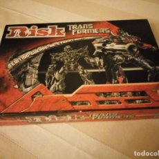Juegos de mesa: RISK - TRANSFORMERS - PARKER BROTHERS - CYBERTRON BATTLE EDITION - 2007,HASBRO. Lote 151621350