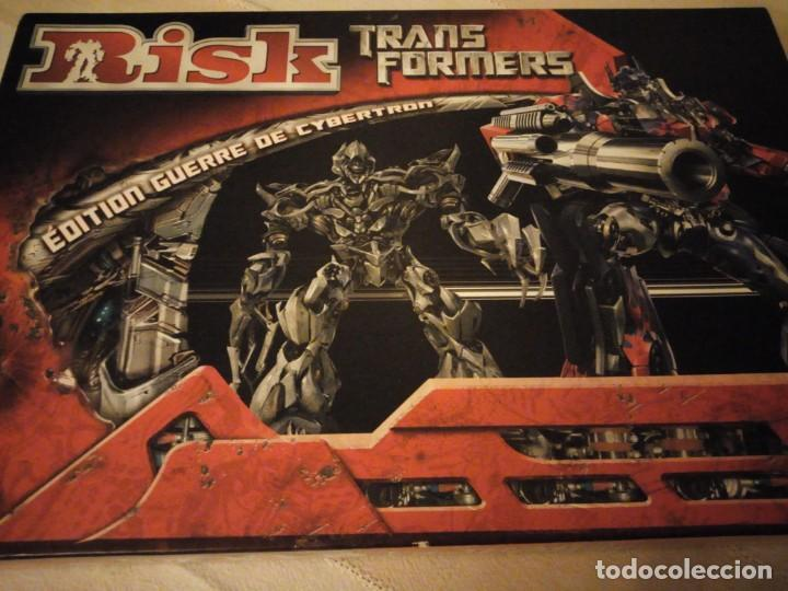 Juegos de mesa: RISK - TRANSFORMERS - PARKER BROTHERS - CYBERTRON BATTLE EDITION - 2007,hasbro - Foto 2 - 151621350