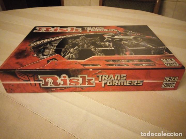 Juegos de mesa: RISK - TRANSFORMERS - PARKER BROTHERS - CYBERTRON BATTLE EDITION - 2007,hasbro - Foto 3 - 151621350
