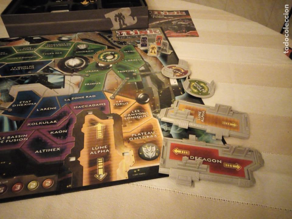 Juegos de mesa: RISK - TRANSFORMERS - PARKER BROTHERS - CYBERTRON BATTLE EDITION - 2007,hasbro - Foto 5 - 151621350