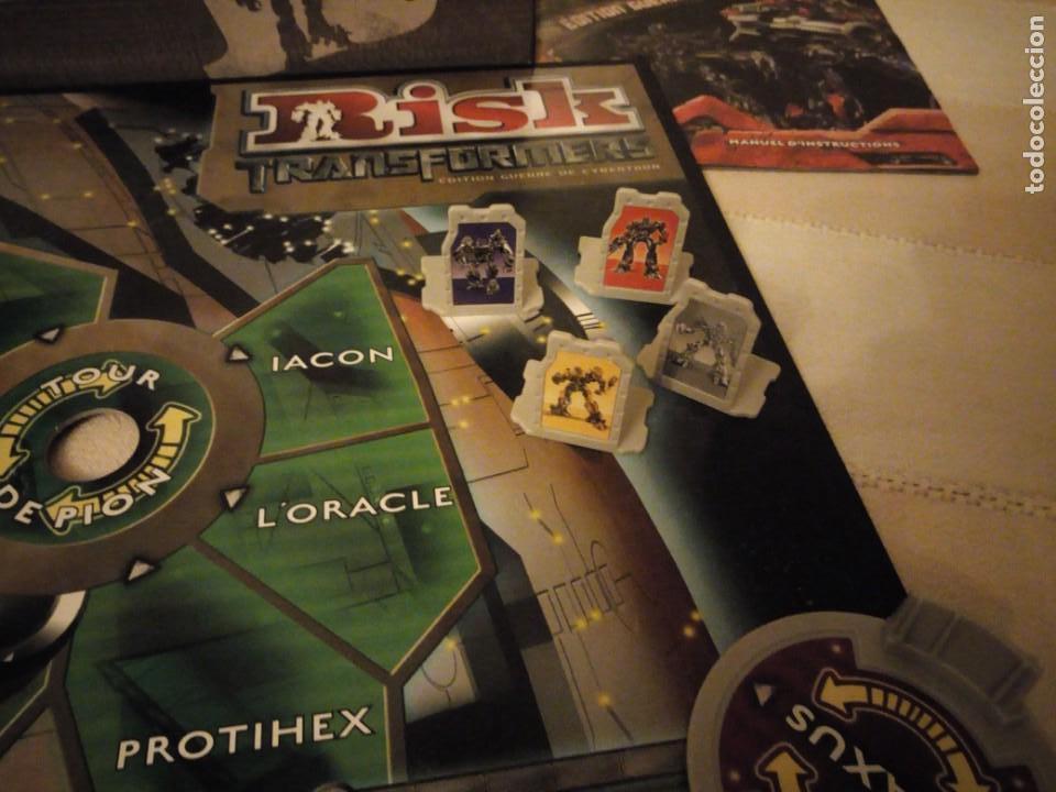 Juegos de mesa: RISK - TRANSFORMERS - PARKER BROTHERS - CYBERTRON BATTLE EDITION - 2007,hasbro - Foto 6 - 151621350