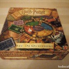 Juegos de mesa: HARRY POTTER - JEU DE QUESTIONS - MATTEL 2001,JUEGO DE PREGUNTAS .FRANCES. Lote 199447117
