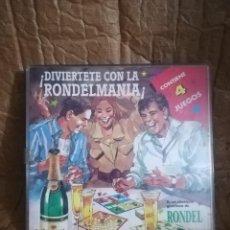 Juegos de mesa: 4 JUEGOS COLECCION RONDEL, MUY RARO. Lote 151911042