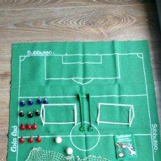 Juegos de mesa: GRAN LOTE SUBBUTEO COLA CAO INCLUYE TAPETE PORTERÍAS REDES MUÑECOS LO Q SE VE EN LA FOTO VER DESCRI. Lote 151949198