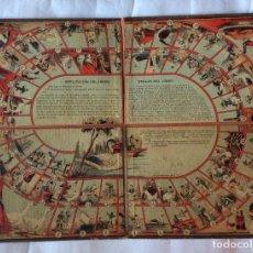 Juegos de mesa: ANTIGUO TABLERO EN CARTÓN DE LA OCA ,FINALES SIGLO XIX,PPO. XX . Lote 151976478
