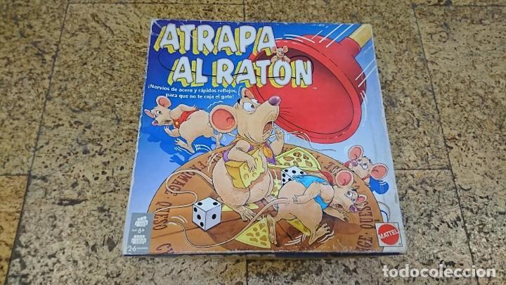 ATRAPA EL RATÓN, MATTEL (Juguetes - Juegos - Juegos de Mesa)