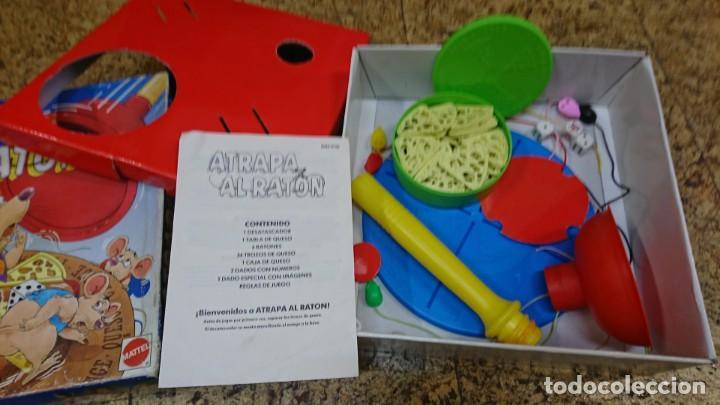 Juegos de mesa: ATRAPA EL RATÓN, MATTEL - Foto 2 - 152122382