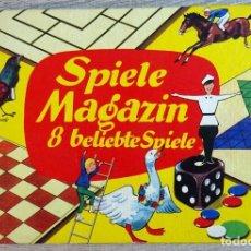 Juegos de mesa: JUEGO SPIELE MAGAZIN 8 BELIEBTE SPIELE ( JUEGOS DE LA REVISTA 8 JUEGOS POPULARES ALEMANES). Lote 152190042