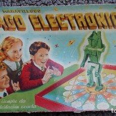 Juegos de mesa: EL MARAVILLOSO MAGO ELECTRÓNICO. SIEMPRE DA LA CONTESTACIÓN EXACTA. JUGUETE ANTIGUO, EDICIÓN 1957. Lote 152420674