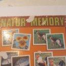 Juegos de mesa: NATURA MEMORY JUEGO PAREJAS AÑOS80. Lote 152430461